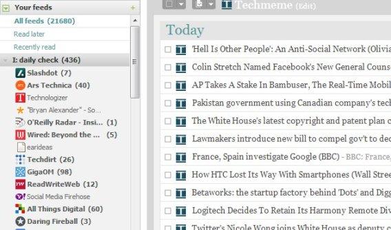 Bloglines RSS sample