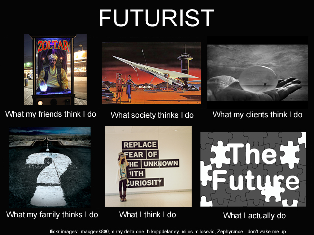 What people think futurists do