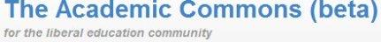 Academic Commons logo