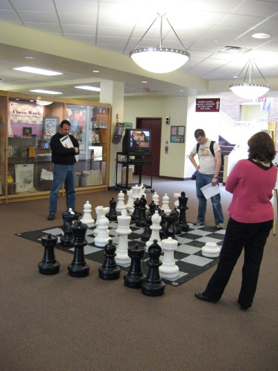 chess sacrifice, from MorrisCountyLibrary