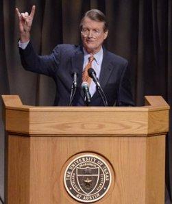 University of Texas president Powers