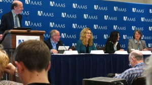 Pew researchers presenting to AAAS