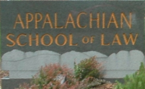 Appalachian School of Law_Sign_in_Front