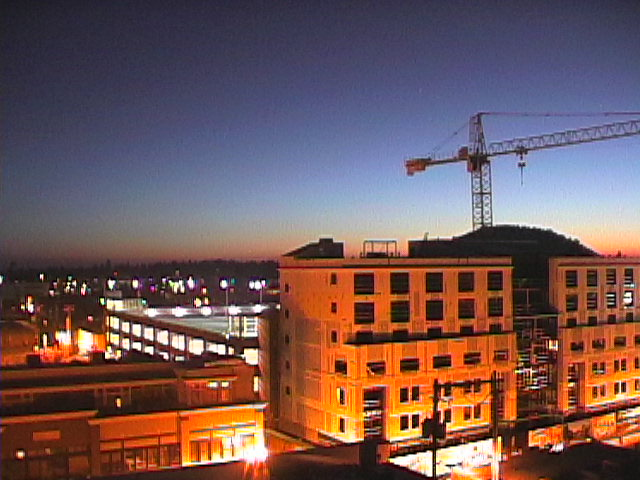 """""""Downtown construction in Bend"""", Oregon"""