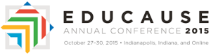 EDUCAUSE 2015 conference