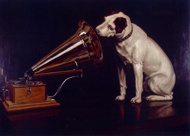 His Master's Voice, old RCA