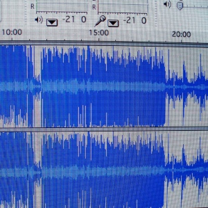 Editing in Audacity, by Laura Blankenship