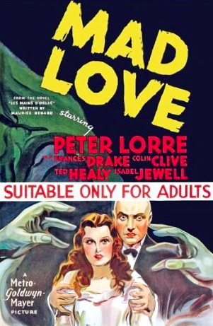 Mad Love, movie poster
