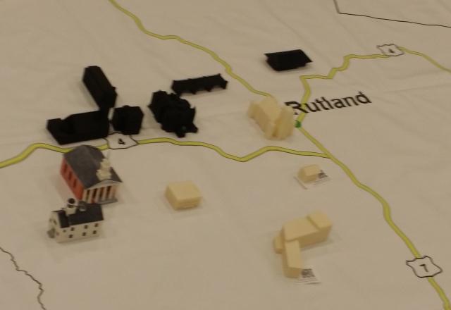 Buildings in the Rutland area