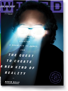 Wired Magic Leap issue cover