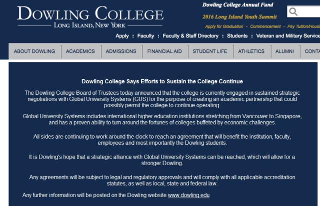 Dowling homepage