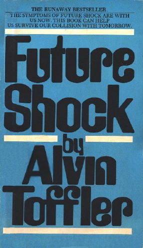 Toffler, Future Shock, cover