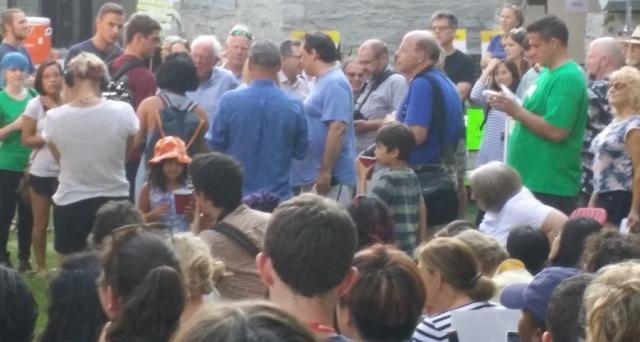 Bernie Sanders in Middlebury, Labor Day 2016
