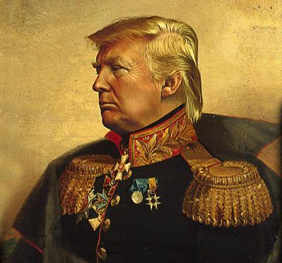 Trump as marshal