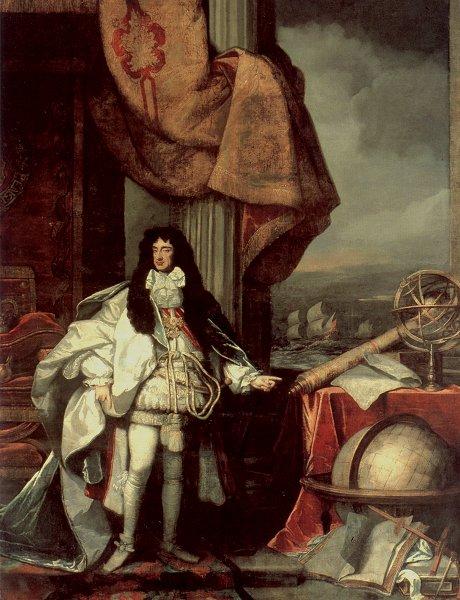 Charles II and his big telescope