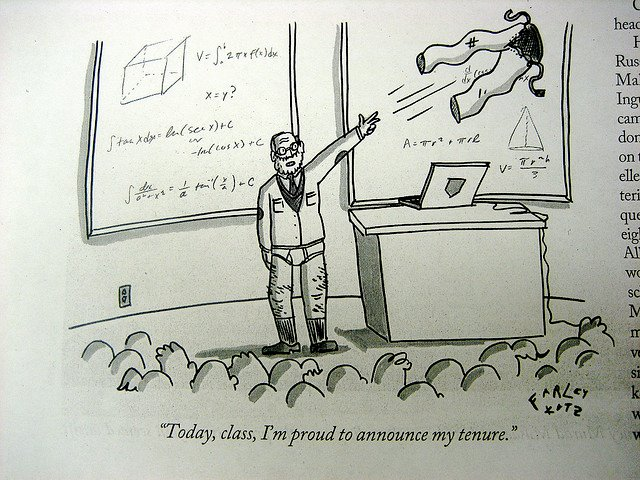 tenure cartoon