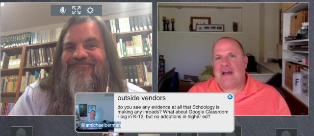 Forum screenshot: Phil Hill plus Mike Berman Q