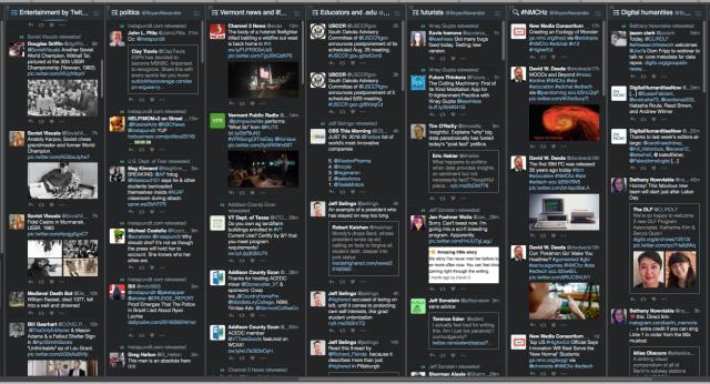 Tweetdeck, some columns