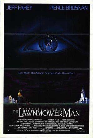 Lawnmower Man poster