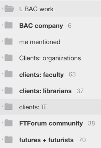 My RSS feeds, part 1