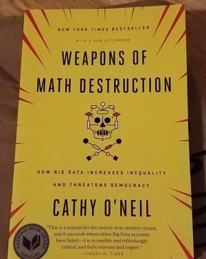 ONeil_Weapons of Math Destruction pb cover
