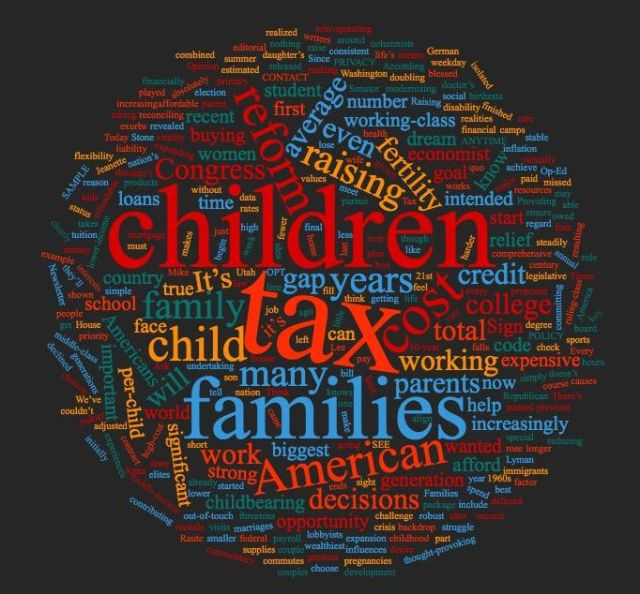 Rubio children tax cloud
